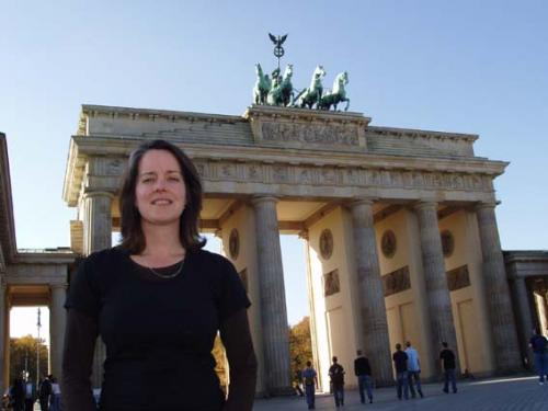 AT at Brandenburg Gate